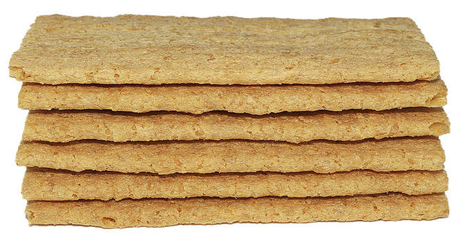 Bread, Discs, Stacked, One Above The Other, Crisp Bread