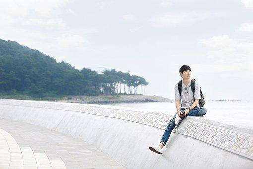 Profile, Picture Of Yourself, Haeundae Beach, Busan