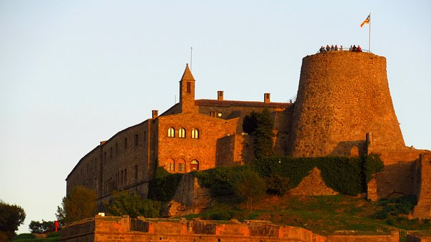 Cardona, Castle, Medieval, Landmark, Fortification