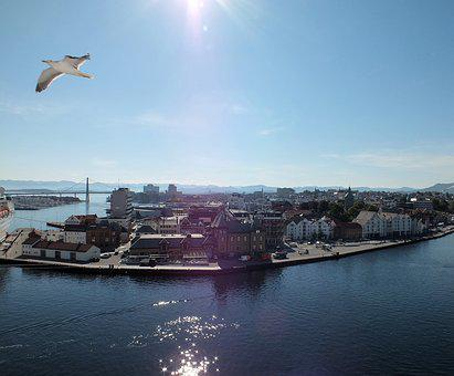 Stavaqnger, Norway, City, Port, Travel, Scandinavia