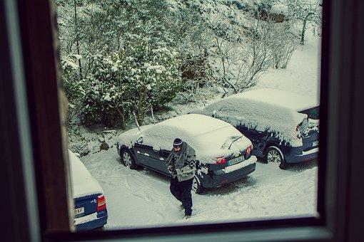 Window, Winter, Nevado, Snowy Landscape, Snow, Cold
