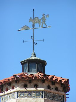 Weather Vane, Death Valley, Scotty's Castle, Desert