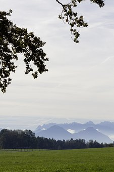 Alpine, Hair Dryer, Distant View, Mountains