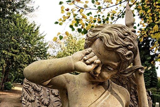 Sculpture, Angel, Religion, Heaven, Divine, Celestial