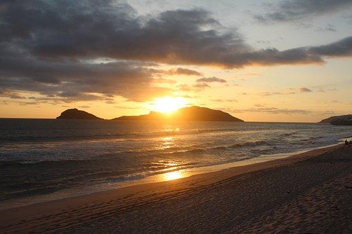 Sunset, Mazatlan, Islands