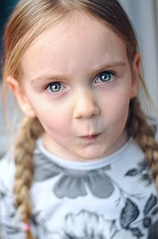 Girl, Kid, Cute, Caucasian, Portrait, Child, Childhood