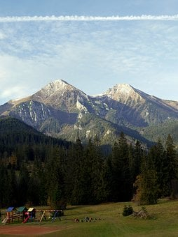 Slovakia, Tatry, Rocks, Mountains, Autumn, Country