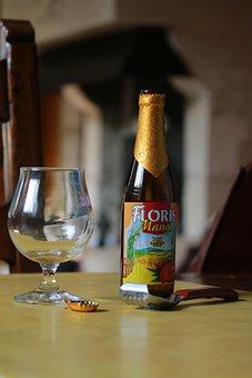 Glass, Beer, Drink, Bottle, North