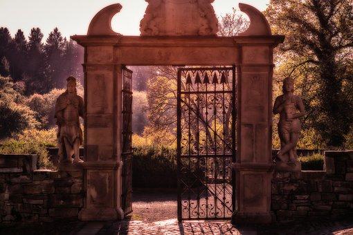 Goal, Gate, Portal, Input, Old, Historically, Passage