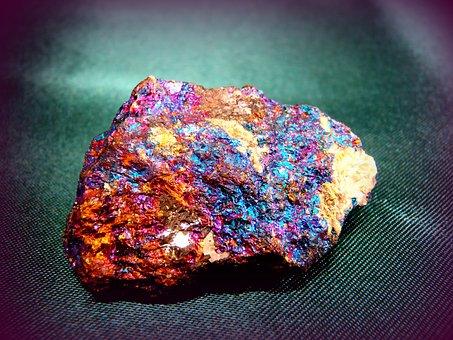 Bornite, Peacock Ore, Geology, Mineralogy