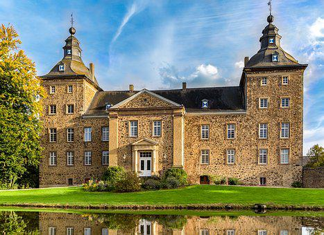 Castle, Ring Home, Flamersheim Euskirchen, Germany