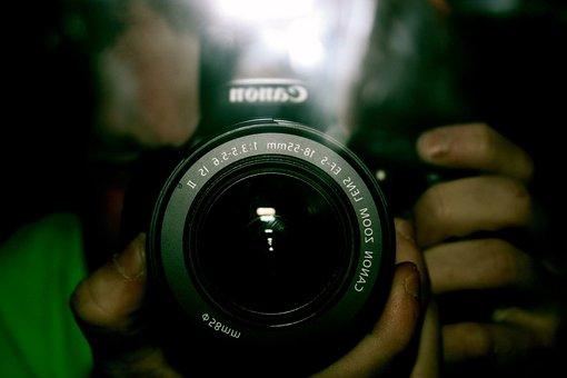 Lens, Shutter, Aperture, Zoom, Focus, Background, Human