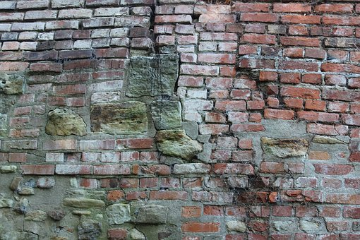 Wall, Old, Historically, Rock Stones, Brick, Rock