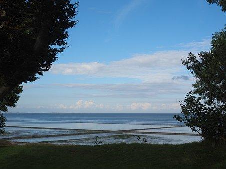 Sea, Watts, Keitum, Sylt, North Sea, Wadden Sea