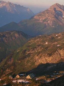 Mindelheimer Hut, Allgäu, Hut, Mountain Hut, Log Cabin