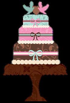 Cake, Cakes, Wedding Cake, Food, Dessert, Sweet