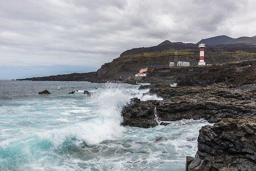 La Palma, Lighthouse, Saline, Canary Islands, Salinas
