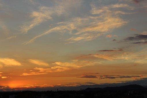 Sunset, Sky, Clouds, Landscape, Nature, Venezuela