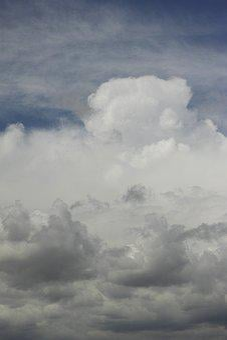 Grey, Rainy, Cold, Storm, Hurricane, Sky, Air