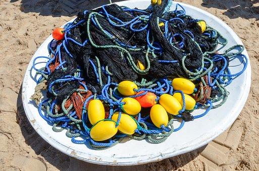 Network, Fishing, Fishing Net, Dry Nets, Fischer, Fish