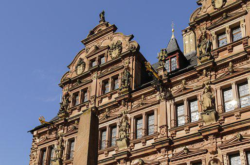 Heidelberg, Castle, Fortress, Baden Württemberg