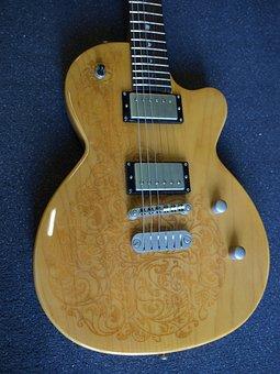 Guitar, Luna Sol Henna, Les Paul-model