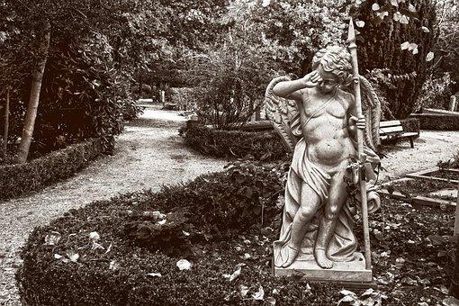 Sculpture, Angel, Religion, Cemetery, Divine, Heavenly