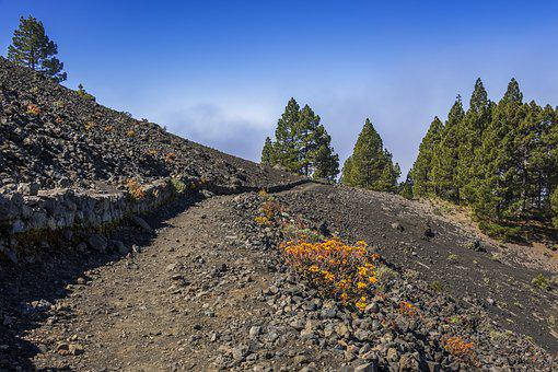 Volcano, Island, Volcanic, Canary Islands, Landscape