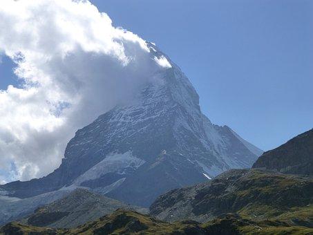 Matterhorn, Valais, Zermatt, Landscape