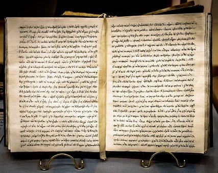 Manuscript, Book, Old, Written, Text, Museum