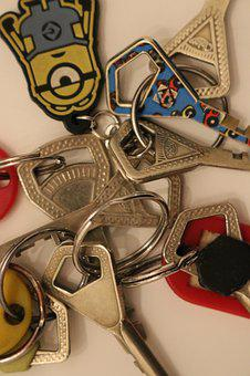 Keys, Migration, Keychain, Home, Modification