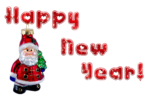 New Year's Eve, Santa Claus, Transparent Background