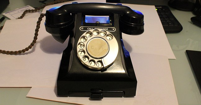 Telephone, Phone, Office, Desk, Communication, Dial