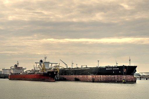 Oil Tanker, Tanker, Port, Ship, Seaways Sakura
