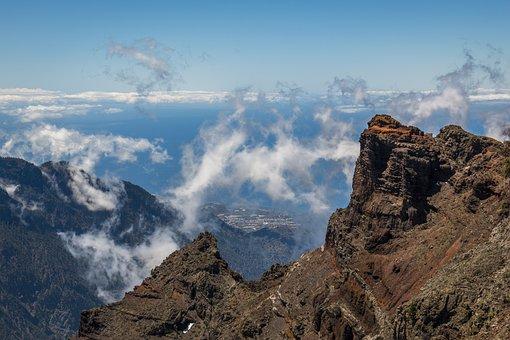 Summit, La Palma, Canary Islands, Mountains, Hiking