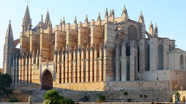 The Cathedral, Church, Stone Church, Architecture