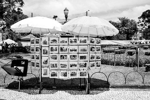Street, City, Urban, Fair, Artist, Photo, Brazil