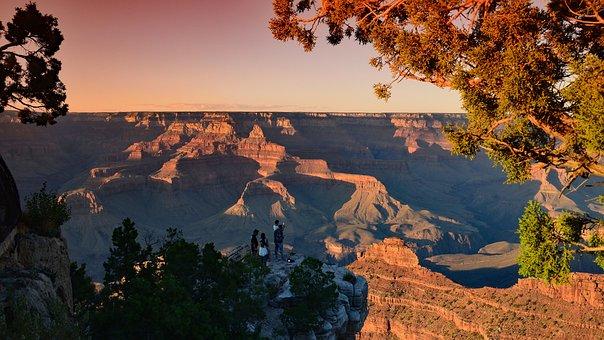 Usa, Grand Canyon, Evening