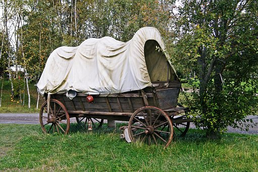 Covered Wagon, Nostalgia, Wagon, Historically