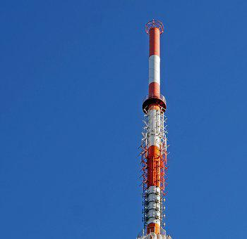 Transmission Tower, Mast Tip, Radio, Watch Tv, Fm, Dab
