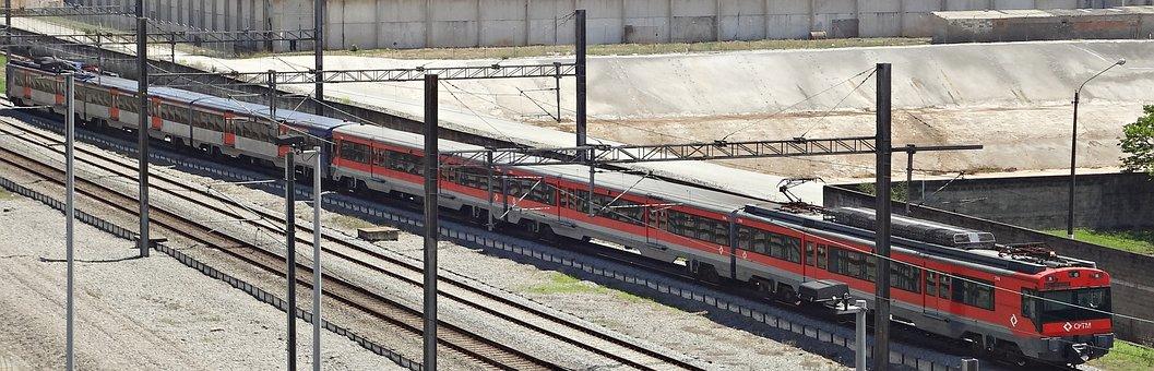 Urban Train, São Paulo, Sp, Brazil, 2017