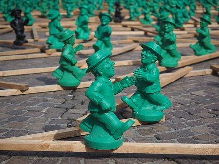 Artwork, A Symbol Of Unity, Green Men, Art, Unit Symbol