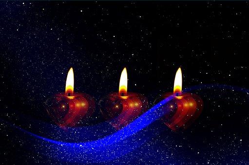 Candle, Advent, Fourth, Christmas Eve, Celebration