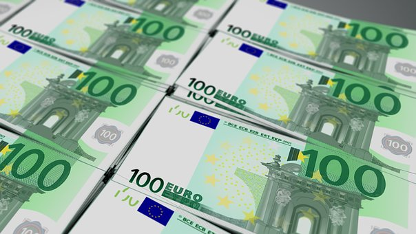Euro, Bill, Currency, Hundred, Cash, Business, Money