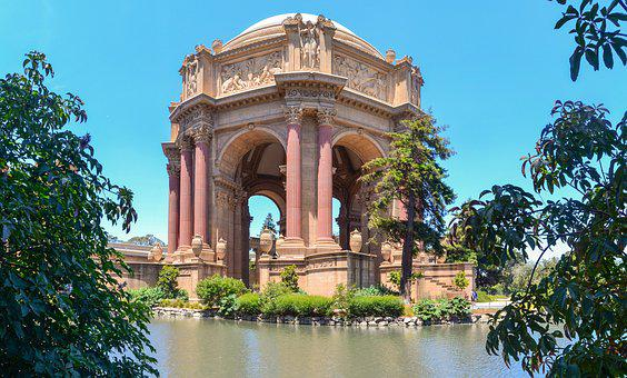 San Francisco, Palace Of Fine Art, Usa, California