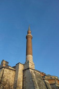 Hagia Sophia, Church, Jesus, Cami, Minaret, Istanbul