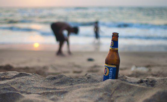 Beer, Chill, Chilling, Drink, Beach, Beached, Lager
