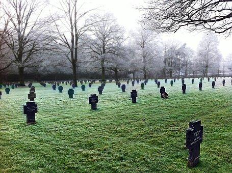 Cemetery, Soldier, Tombstones, Cruz, Fallen Soldier