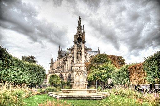 Norte, Dame, Paris, France, French, Travel, Building