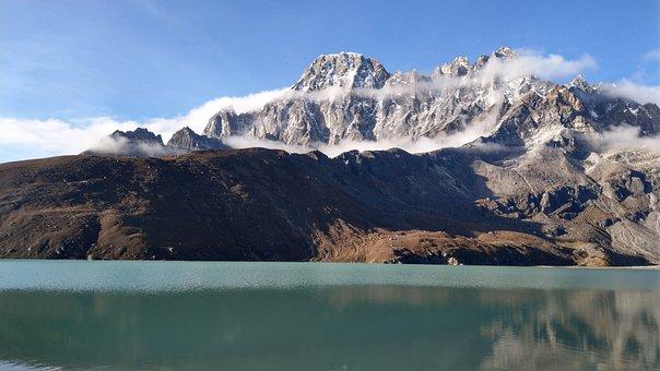 Gokyo, Mountain, Lake, Nepal